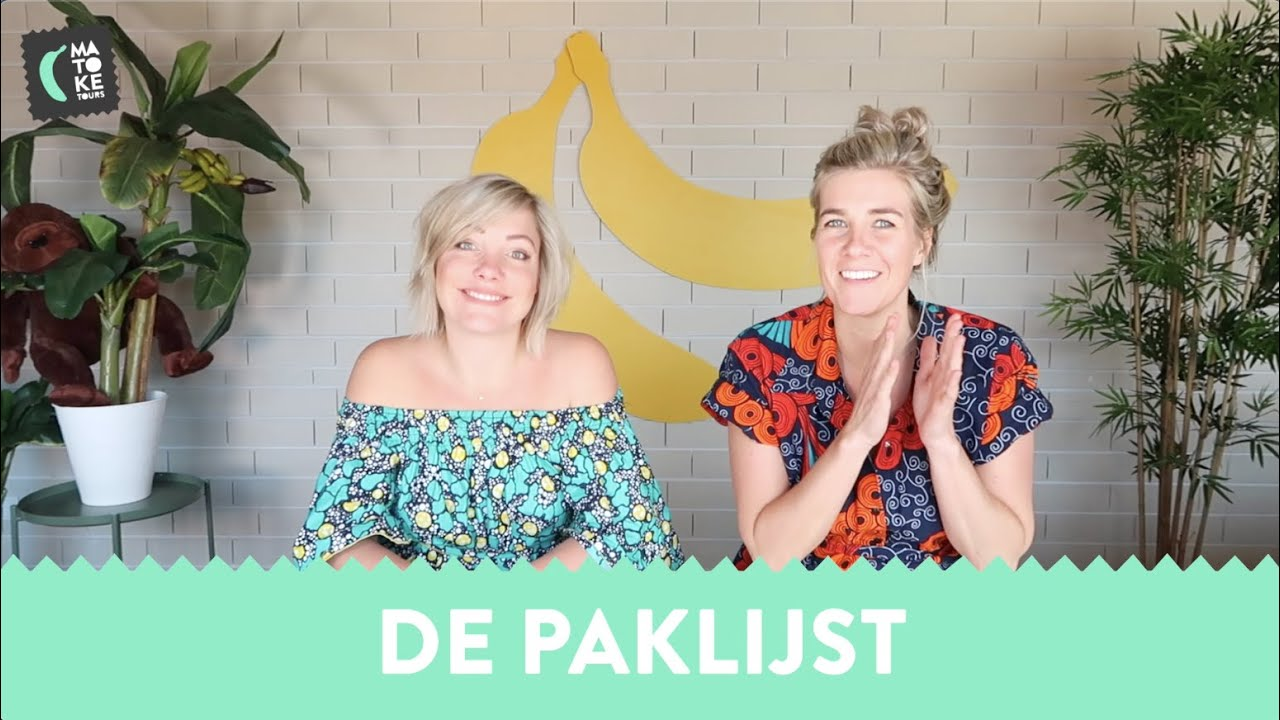 Let's Go Bananas: Paklijst