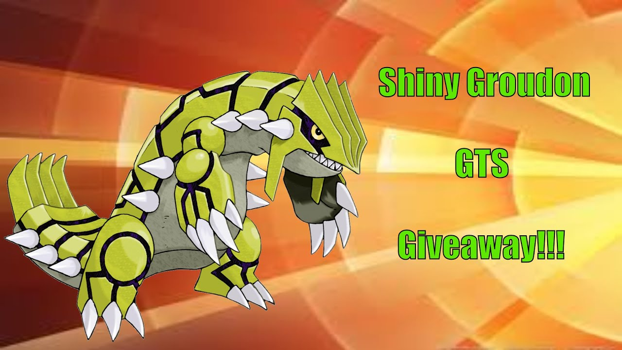 Pixelmon finding shiny groudon giveaways