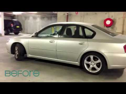 15 car window tint before and after subaru legacy youtube for 15 window tint pictures