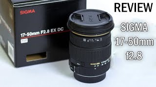 Unboxing & Review of Sigma 17-50mm f2.8 OS HSM Lens