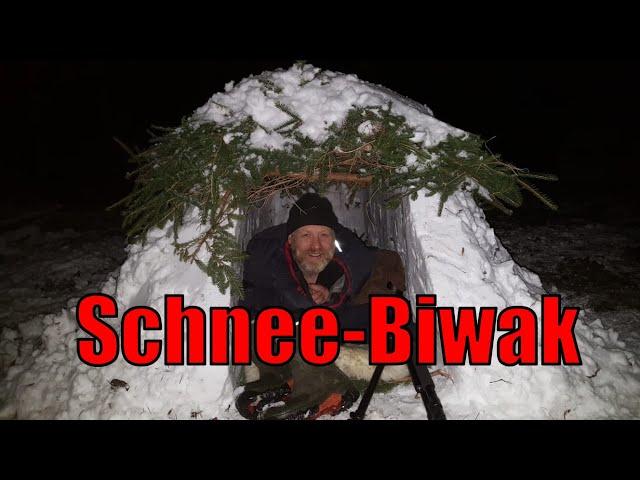 Schnee-Biwak