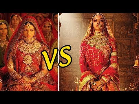 Deepika Padukone Padmavati Compared To Aishwarya Rai's Jodha Akbar