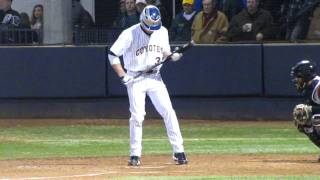 Bryce Harpers 1st College Hit Jan 29th 2010.