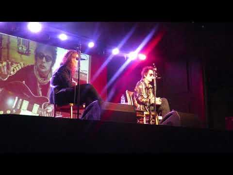 Earl Slick In Conversation (Bowie Guitarist)  Oran Mor - Glasgow - 3 September 2018 - Part 2