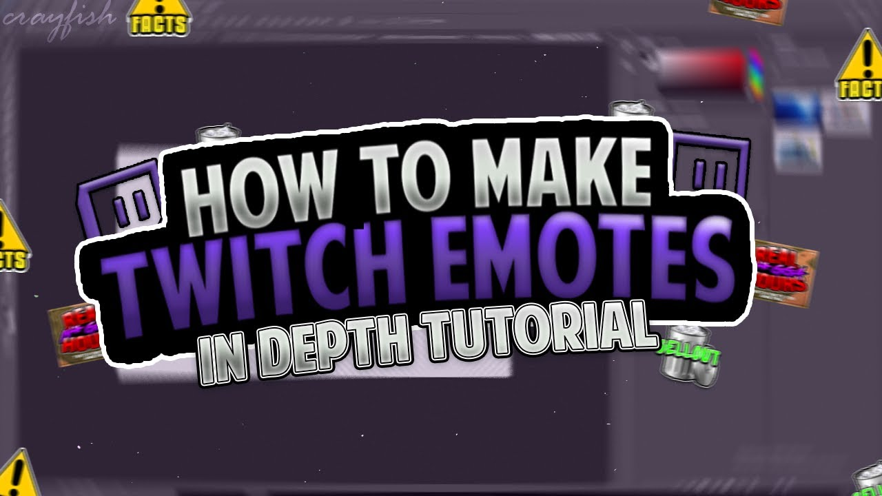 HOW TO MAKE CUSTOM TWITCH EMOTES! HOW TO MAKE EMOTES AS/FOR TWITCH  AFFILIATE IN DEPTH TUTORIAL!
