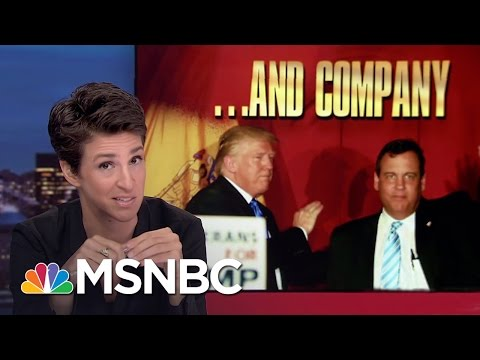 Donald Trump Campaign Tested By Criminal Accusations | Rachel Maddow | MSNBC