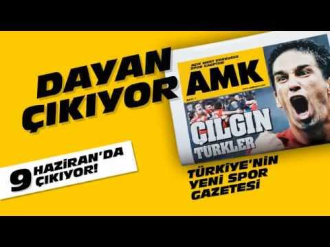 Yeni spor gazetesi AMK