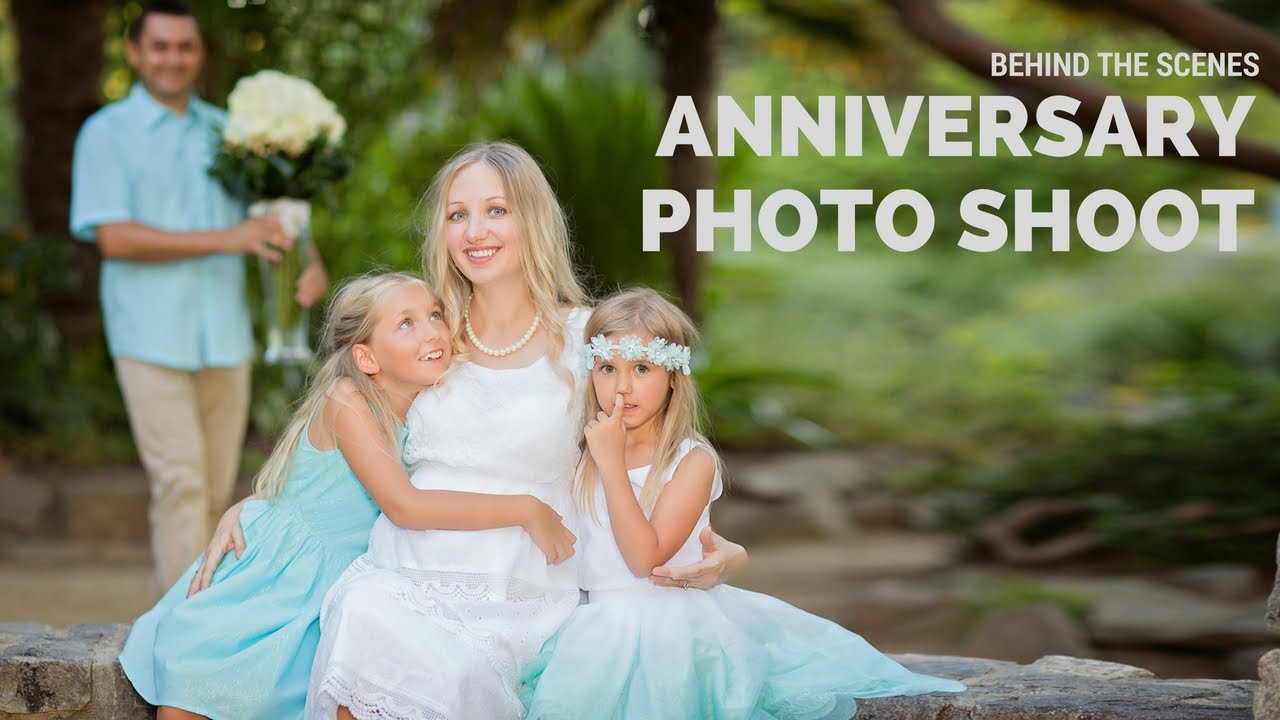 10 anniversary family photo shoot with highlight your wrinkles