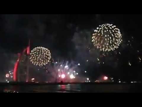Dubai New Year 2020 Fireworks /HAPPY NEW YEAR 2020 DUBAI/Dubai Burj Khalifa Fireworks 2020