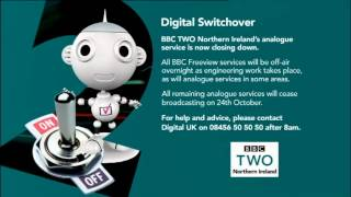 BBC Two NI Analogue Shutdown