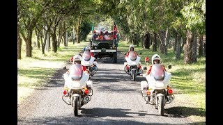 Military perform 19-gun salute in honour of Moi