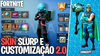 Fortnite-IRADA SKIN OF SLURP JUICE HERO and MORE CUSTOMISATION! Concept