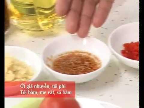 Canh chua cá lóc (cá quả)
