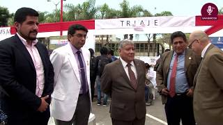 Tema: Feria Sanmarquino, juntos podemos erradicar la TBC.