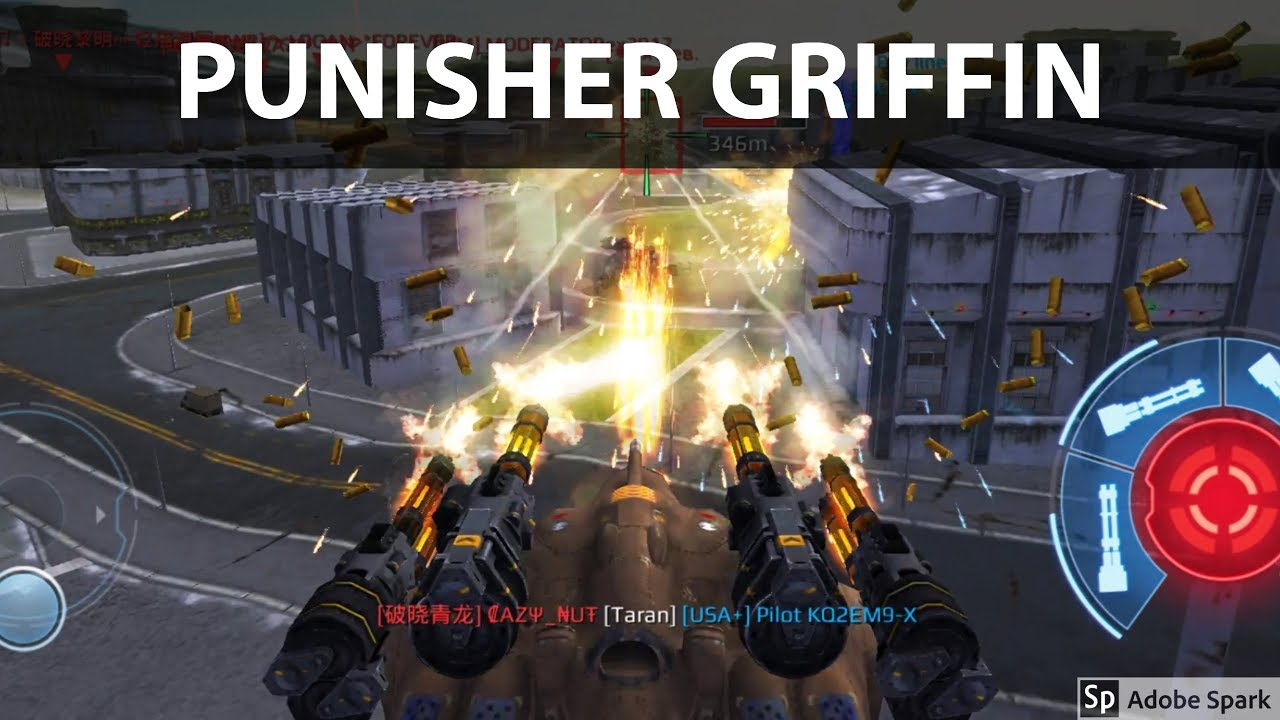 War Robots - Griffin Punisher Compilation - Gameplay - YouTube