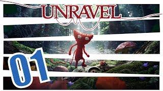 Unravel: Die Reise beginnt #01 | Lets Play Together German Deutsch (PS4 Pro)