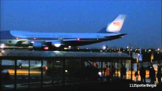 Departure of Barack Obama with the Air Force One @ Brussels Airport 26/03/2014
