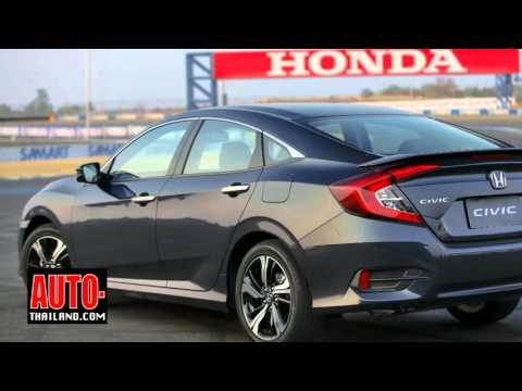 Testdrive All New Honda Civic 1.5L VTEC TURBO