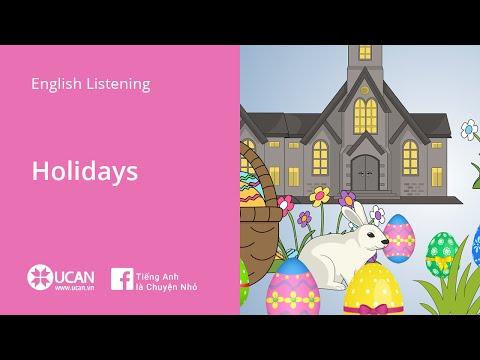 Learn English Via Listening | Beginner: Lesson 36. Holidays
