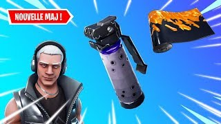[🔴LIVE FORTNITE] ON TESTE THE NEW GRENADE OF THE OMBRE IN THE MAJ - NEW SKINS DISPO!!