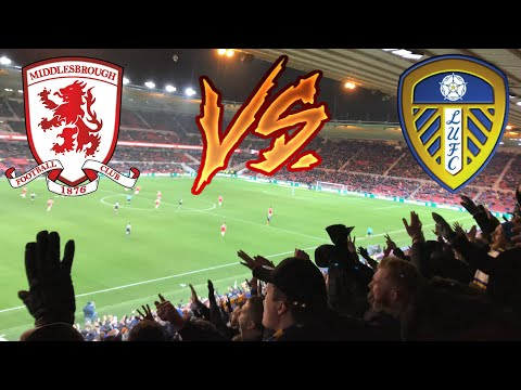 LEEDS FANS GOING MENTAL AT MIDDLESBROUGH | MIDDLESBROUGH 3-0 LEEDS UNITED (10 minutes of pain)