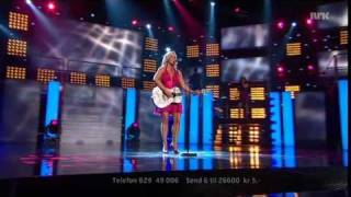 "MGP 2011 - delfinale 2: Hanne Sørvaag - ""You´re Like a Melody"""