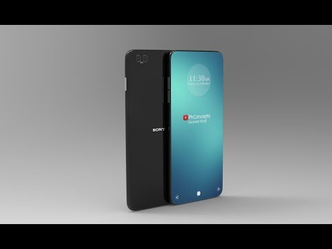 Sony Xperia X1 | Bezel-less Curved Display | Concept