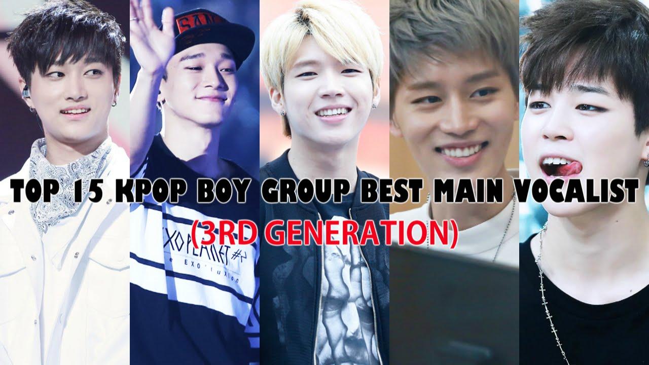TOP 15 KPOP BOY GROUP MAIN VOCALIST (2010-2016)