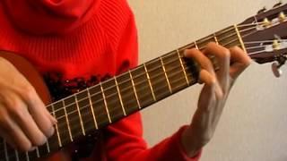 розбір на гітарі Червоні вітрила перебір і бій