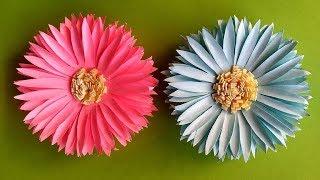 як зробити з паперу квіти
