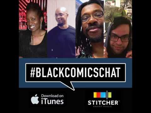 BlackComicsChat Podcast 02 - Eric Dean Seaton