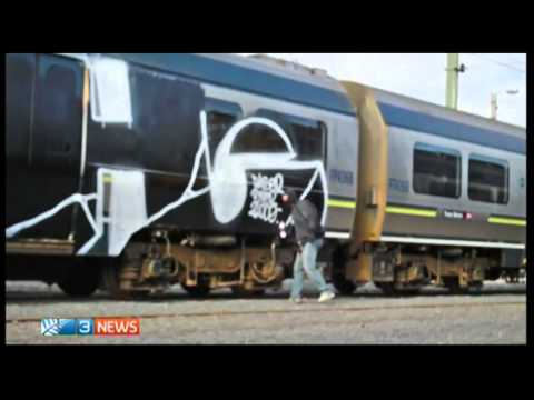 Graffiti vandals' DVDs 'shocking' - Veinz Of Paint - TV3 NEWS New Zealand