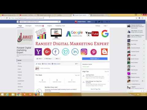 "how to change Facebook fan page name and URLs address ""2016"""