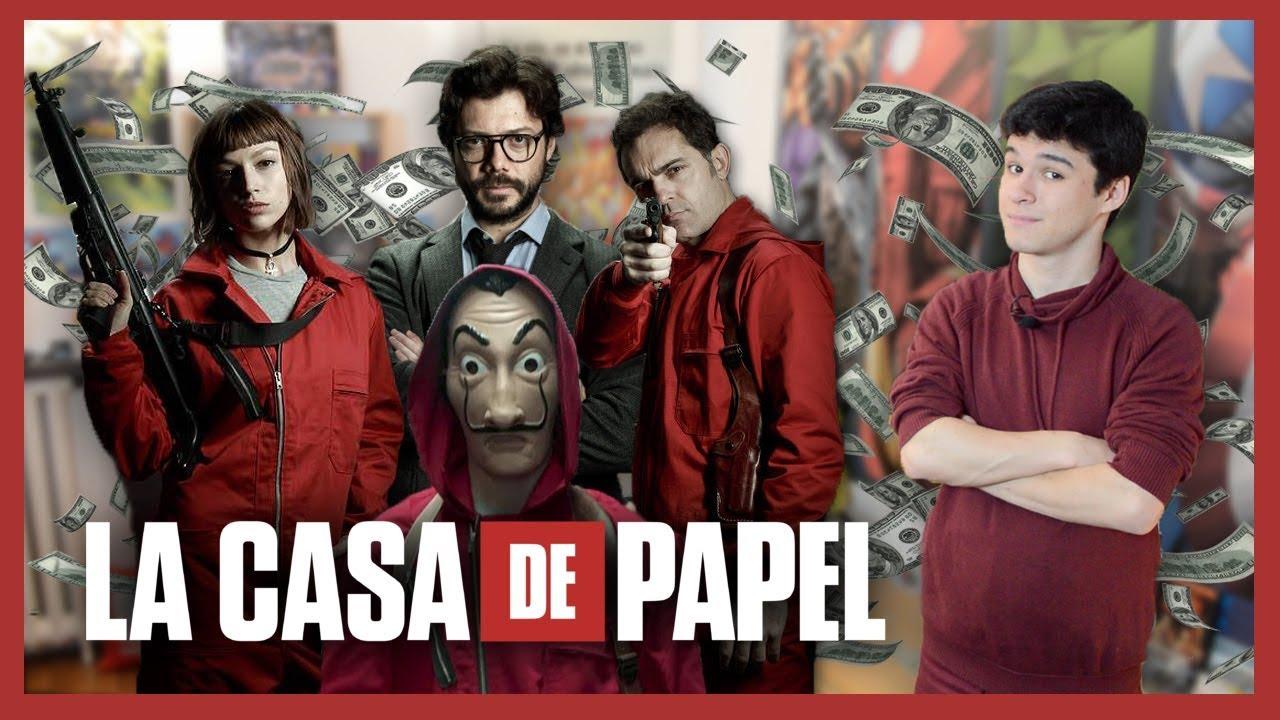 LA CASA DE PAPEL  VRITABLE BRAQUAGE  NO SPOIL  YouTube