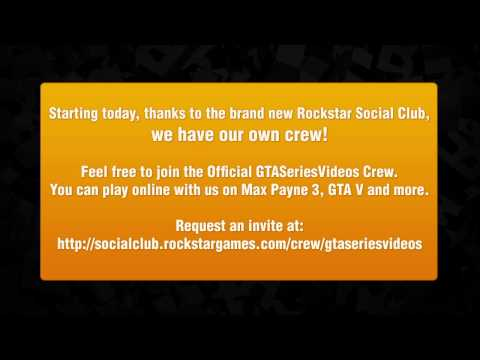 Join GTASeriesVideos Crew on Rockstar Social Club