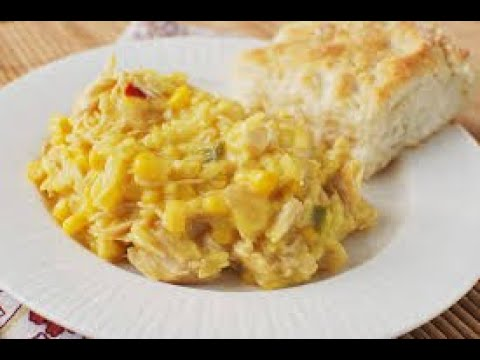 Slow Cooker Cheesy Rice & Chicken Casserole 🍴 Easy Recipes🍷