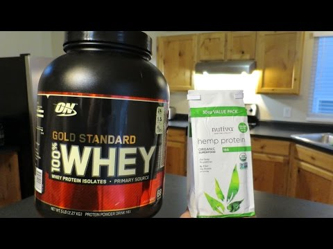 HEMP vs. WHEY protein: Which team are you on?