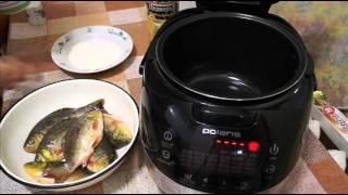Домашние видео рецепты - жареный карась в мультиварке
