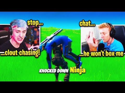 Tfue DESTROYS Ninja and gets TOXIC! (Fortnite Season 2 Chapter 2)