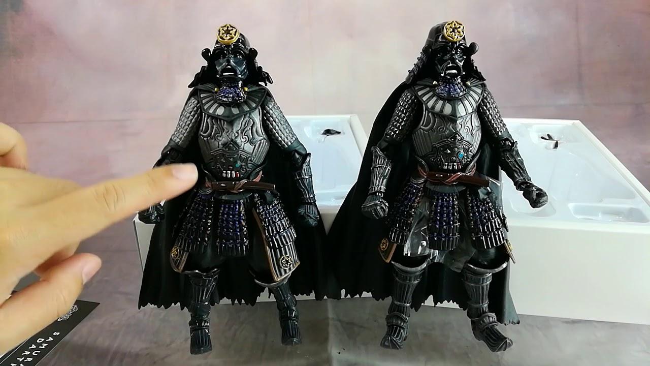 "7/"" Star Wars Movie Realization Dark Vador Samurai Darth Maul figurine"
