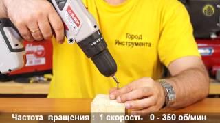 Аккумуляторная дрель-шуруповерт ЗУБР ғимараттарына толық жөн-18-Ли-КН
