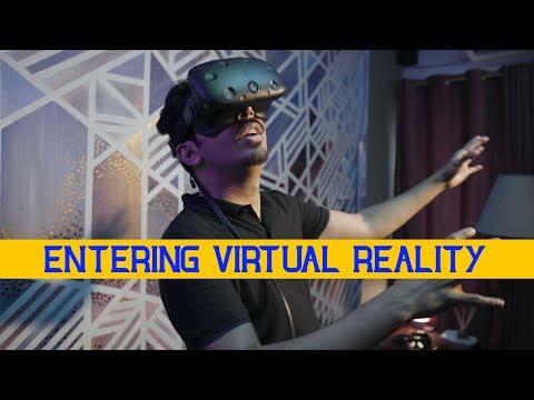 Entering Virtual Reality   VLOG   Mooroo