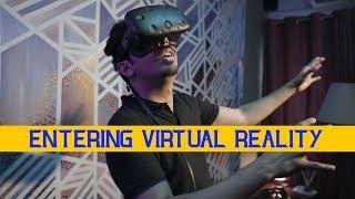 Entering Virtual Reality | VLOG | Mooroo