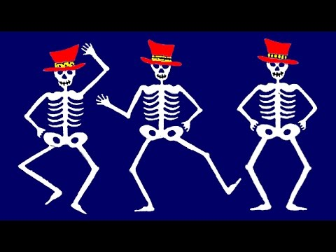 Los Esqueletos Canción Infantil Halloween Youtube