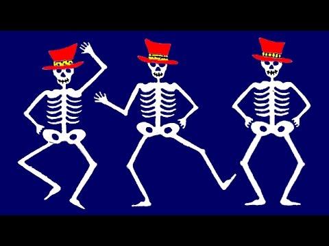 Los Esqueletos Canción Infantil Halloween Youtube