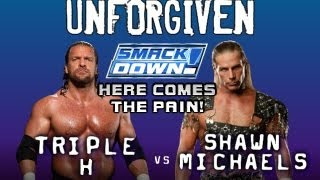 WWE SMACKDOWN! HERE COMES THE PAIN!: Season Mode - Episode 21 - UNFORGIVEN!