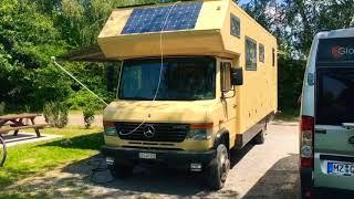Mein gasfreies Wohnmobil MB Vario mit Phoenix Aufbau