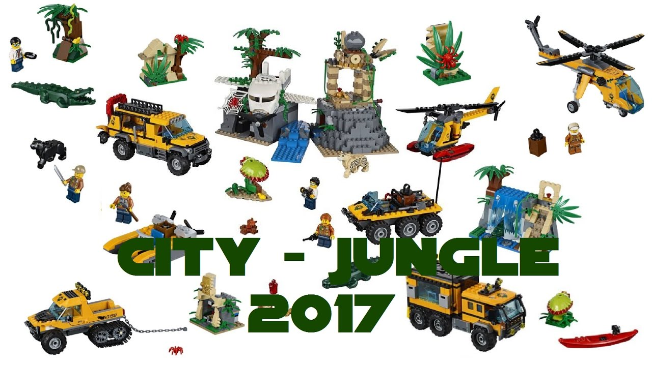 lego city jungle summer 2017 official hq images