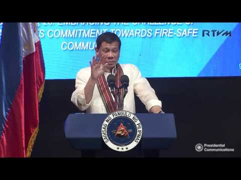 26th Anniversary of the Bureau of Fire Protection (Speech) 8/2/2017
