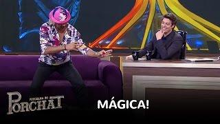 Tiririca surpreende Fábio Porchat com 'truque' de mágica thumbnail